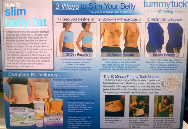 Review: The Reality of the Tummy Tuck Belt (Dec 2014 Update)