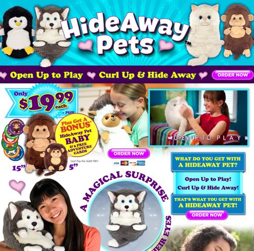 Hideaway Pets Reviews Average Toy High Shipping Fees