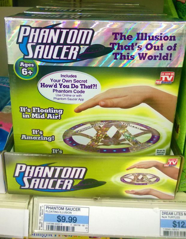 phantom saucer kmart