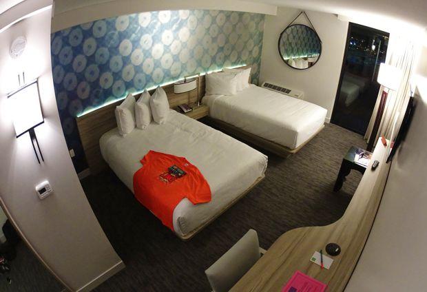 linq hotel room