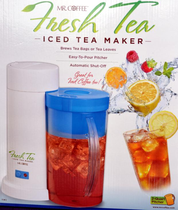 Mr Coffee Iced Tea Maker Box
