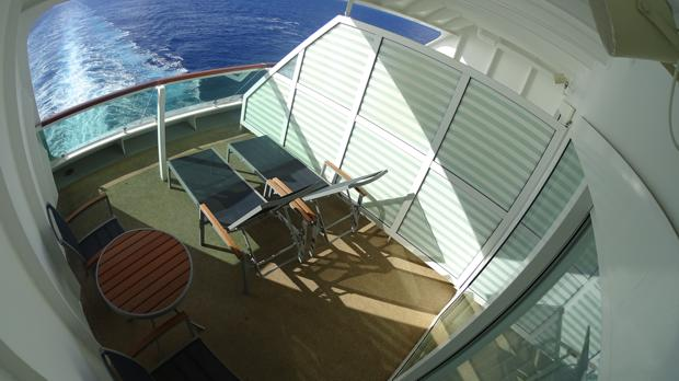 balcony for jewel of the seas stateroom 9660