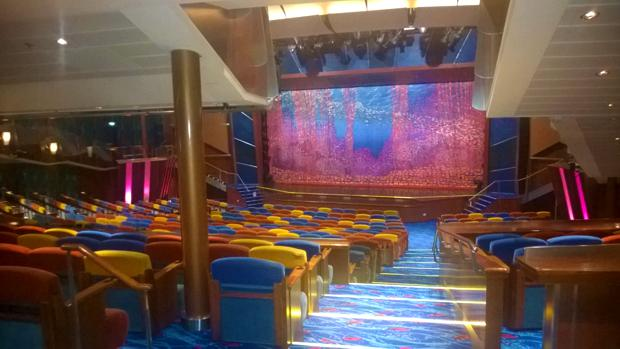 jewel of the seas showroom