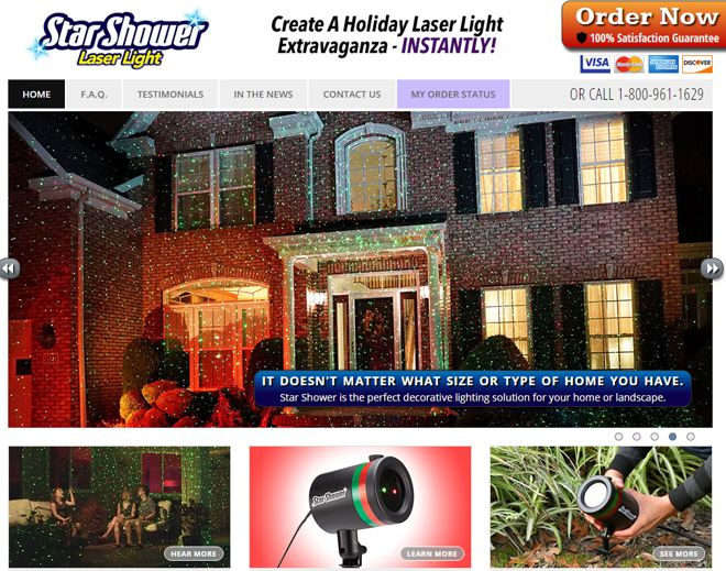 Star Shower Laser Lights Review: Does it Work?
